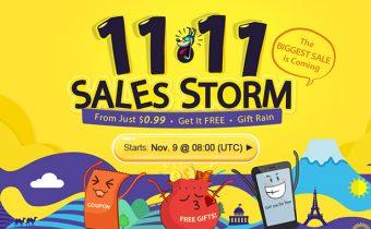 Ураганная распродажа 11.11.16 на GearBest — Sales Storm