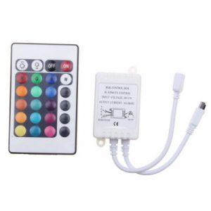 12V 6A  контроллер для светодиодных RGB лент с пультом управления заказать на GearBest