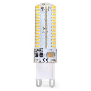 G9 светодиодная лампочка-кукуруза 7W 104 x 3014 SMD LED AC220 - 240V яркость 500lm теплый белый свет 3200K заказать на GearBest